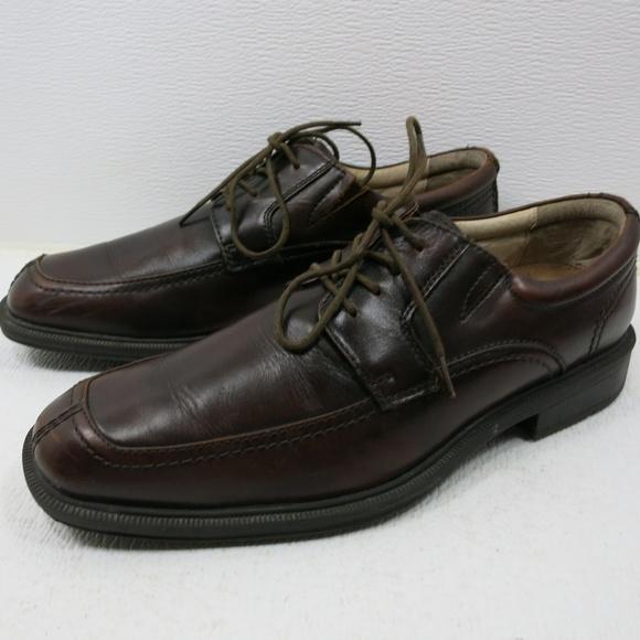 Florsheim Other - Florsheim Oil Tanned Leather Split Toe Oxfords 9 D